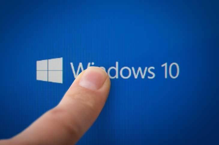 Desactivar pantalla táctil Windows 10