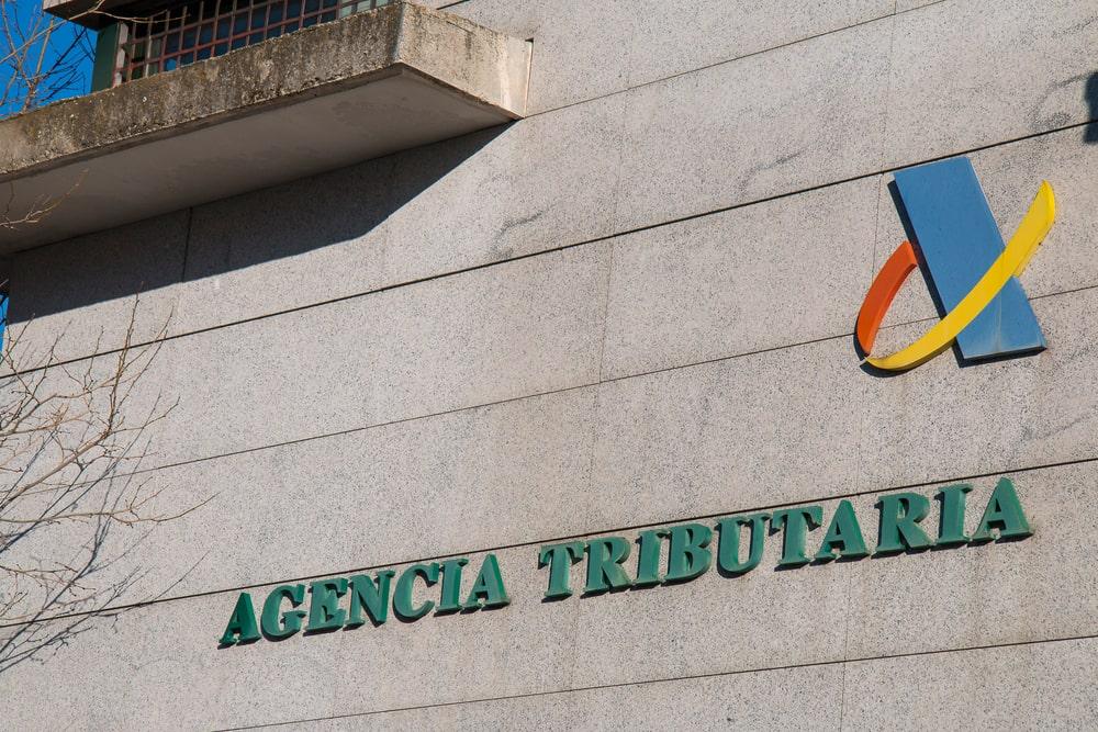 Fachada de la Agencia Tributaria en Madrid