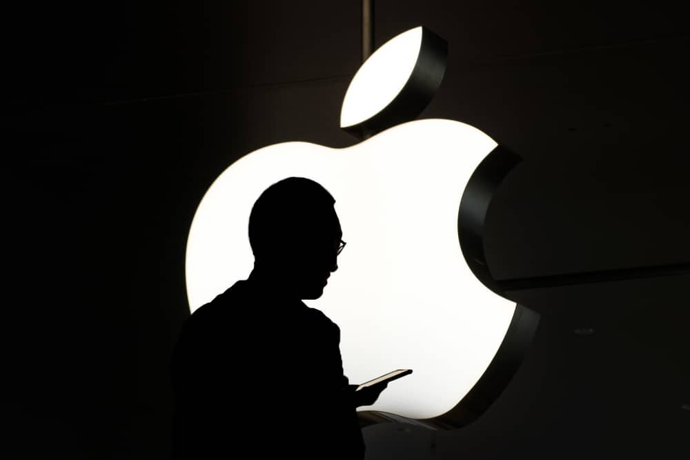 figura-manzana-apple-negro